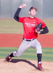 Brian Shaffer allowed two home runs to Arkansas in his first college start.