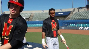 The Terps took Sunday's series finale to salvage a game against upset-minded UNC Wilmington
