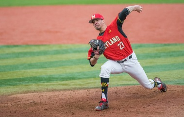 Drossner set a new career-high with eight innings pitched Sunday. (Photo: Alexander Jonesi)