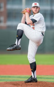 Terps sophomore Mike Shawaryn broke his own single-season wins record Wednesday. (Photo: Alexander Joensi)