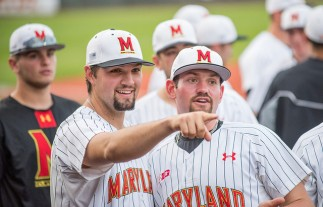 Rob Galligan, left, was outstanding in his first career start Friday. (Photo: Alexander Jonesi)