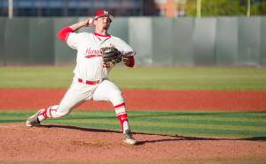Kevin Mooney gutted his way through three shutout innings to earn the win Saturday. (Photo: Alexander Jonesi)