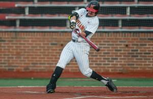 Maryland's bats were held to just two hits Thursday.  (Photo: Alexander Jonesi)