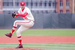 Ryan Selmer joins a host of Terps playing in the Ripken League this summer. (Photo: Alexander Jonesi)