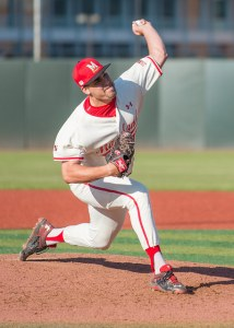 Morris is the fourth member of the Terps bullpen to be picked in this year's draft. (Photo: Alexander Jonesi)