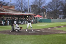 Terps center fielder Zach Jancarski