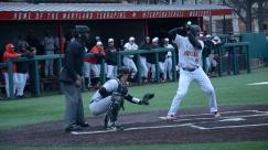Randy Bendar at bat. Photo by Amanda Broderick/Maryland Baseball Network