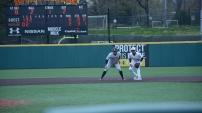 Second baseman AJ Lee. Photo by Amanda Broderick/Maryland Baseball Network