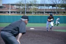 Will Watson running to third. Photo by Amanda Broderick/Maryland Baseball Network