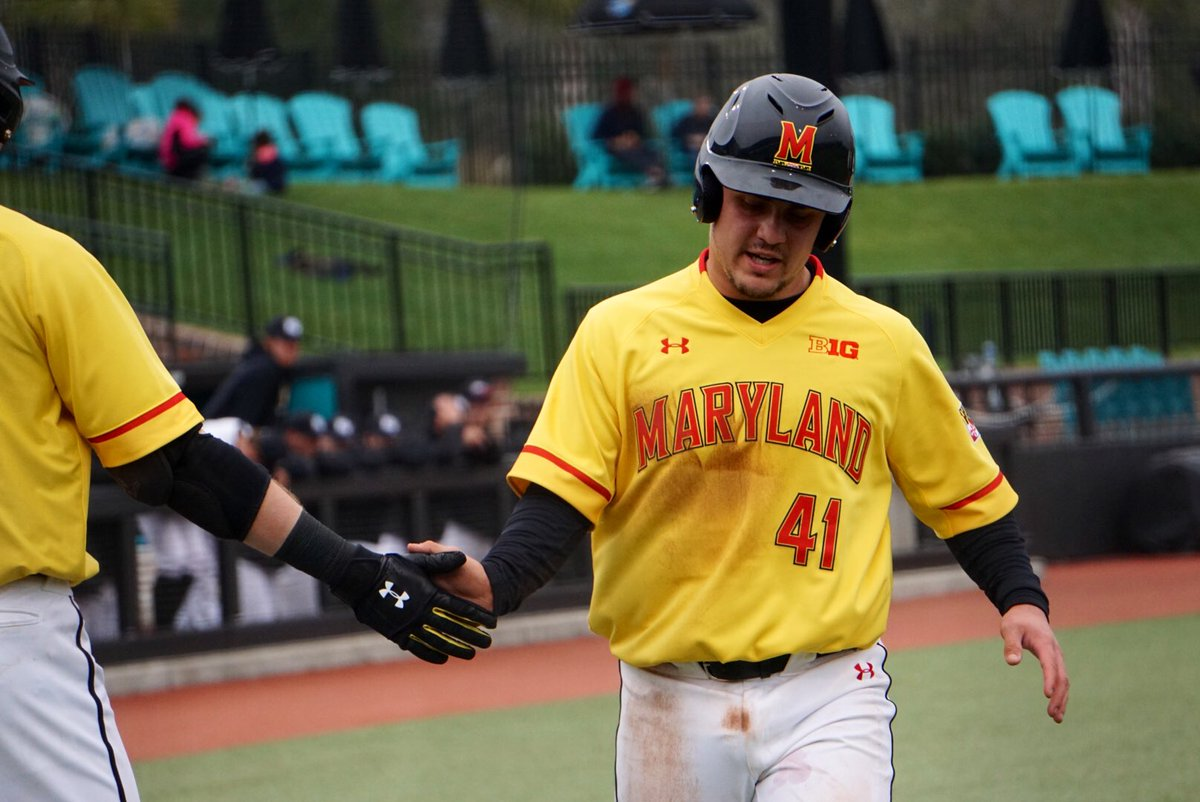 Maryland Experimented On Defense So It Could Use Its Hottest Hitter Vs Delaware Maryland Baseball Network